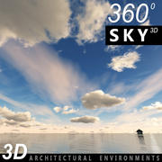 Gökyüzü 3D Günü 036 3d model