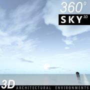 하늘 3D 날 073 3d model