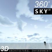 Ciel 3d jour 074 3d model