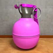 Clean Hand Grenade Pastel Fun Edition 3d model