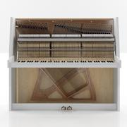 piano with filling 3d model