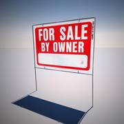 Продается Двор Знак 3d model