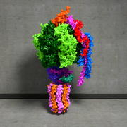Yeast F1Fo-ATP synthase 3d model