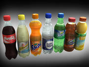 Drinks collection 3d model
