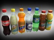 Raccolta di bevande 3d model
