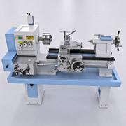 旋盤機械 3d model