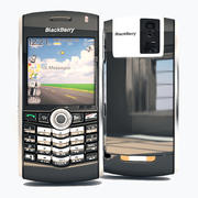 Blackberry 8100 3d model