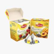 Lipton Pyramid Tea 3d model