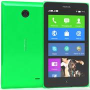 Nokia X & X + Yeşil 3d model