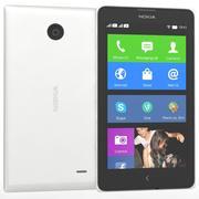 Nokia X & X+ White 3d model