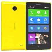 Nokia X & X + Geel 3d model