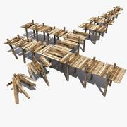 桥梁建设者 3d model