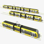 Tram modulair 3d model