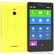 Nokia XL желтый 3d model