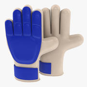 Goalkeeper Soccer Gloves 3d model