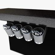 Under Bar Flatware Holder 3d model