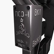 Optisk Sniper Sight PSO-1 3d model