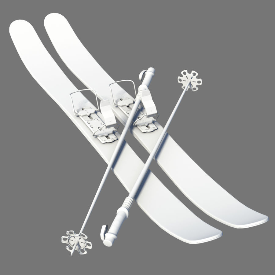 ski board Collection royalty-free 3d model - Preview no. 8