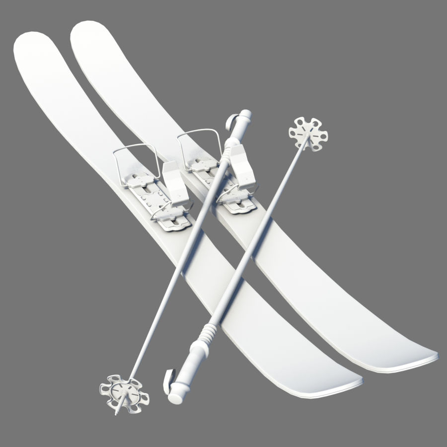 ski board Collection royalty-free 3d model - Preview no. 5
