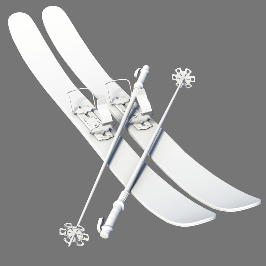 ski board Collection royalty-free 3d model - Preview no. 6