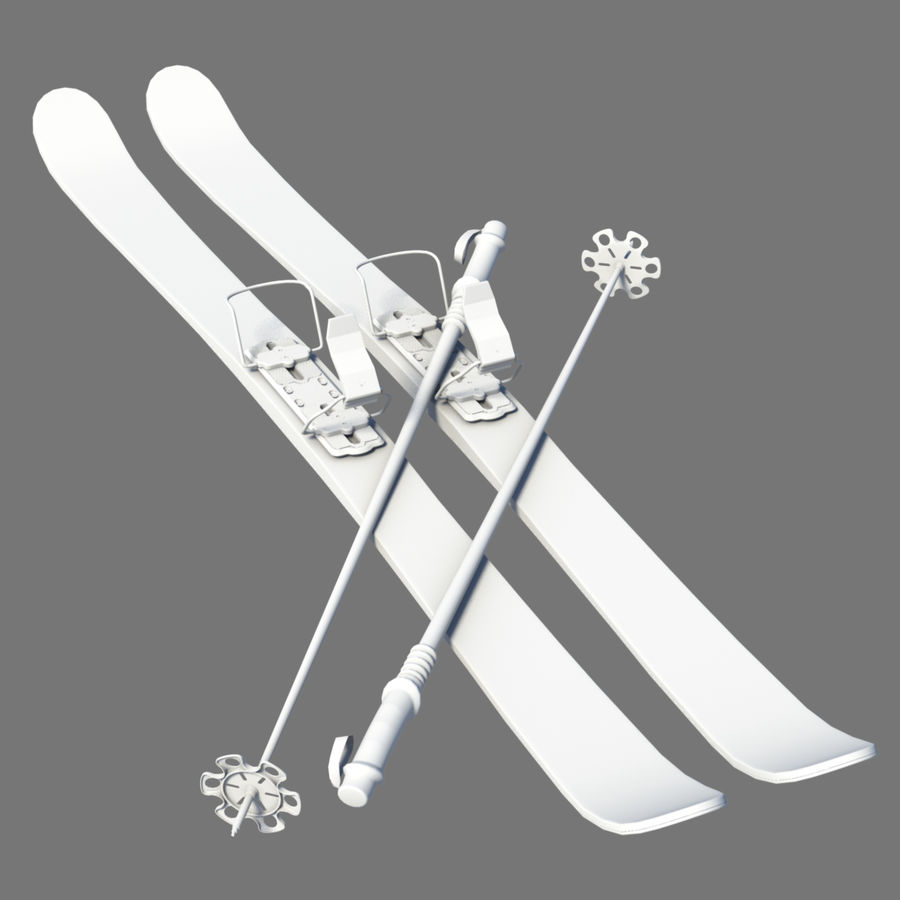ski board Collection royalty-free 3d model - Preview no. 7
