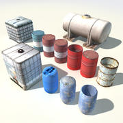 Water & Liquid Tanks 3d model