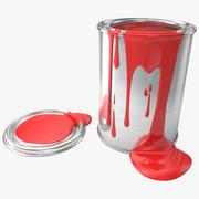 ペンキの缶 3d model