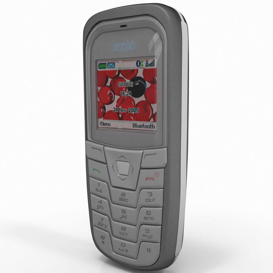 Sendo K1 royalty-free 3d model - Preview no. 10