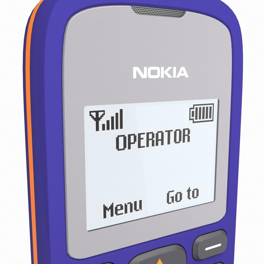 Nokia 103 royalty-free 3d model - Preview no. 13