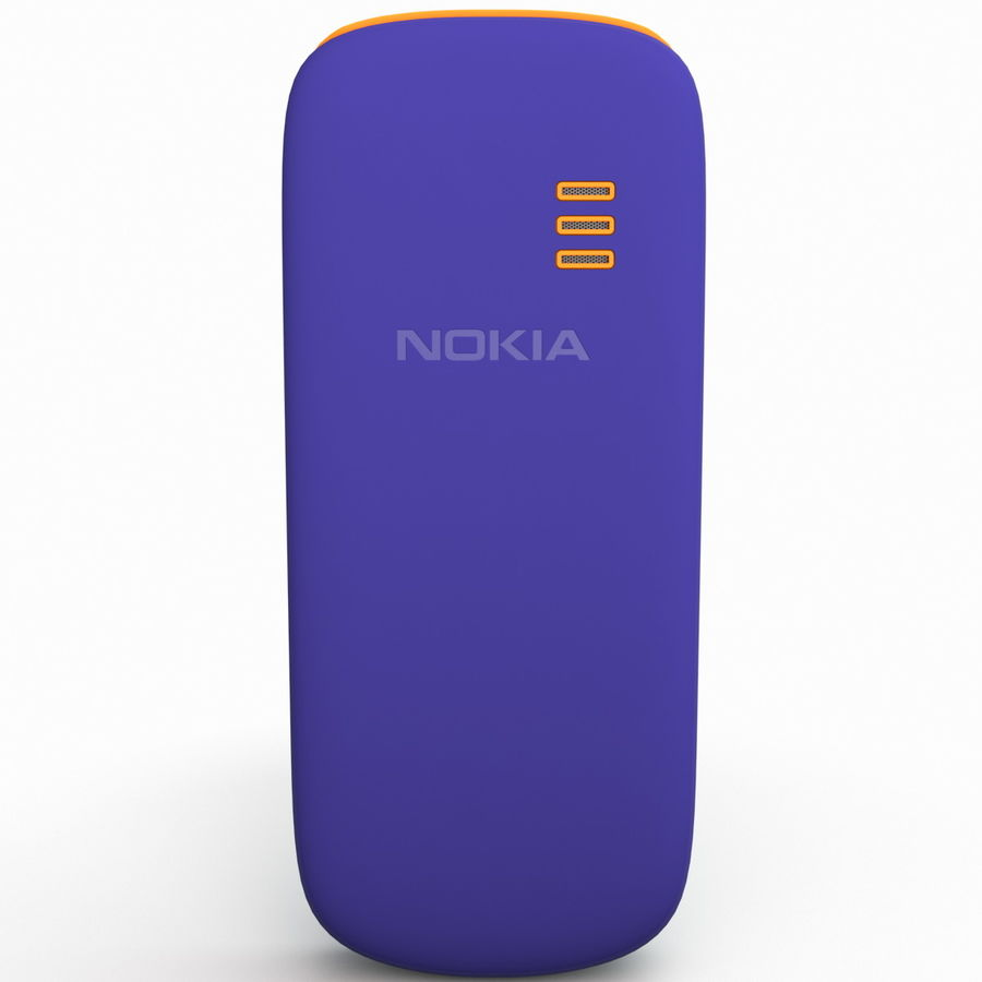 Nokia 103 royalty-free 3d model - Preview no. 7