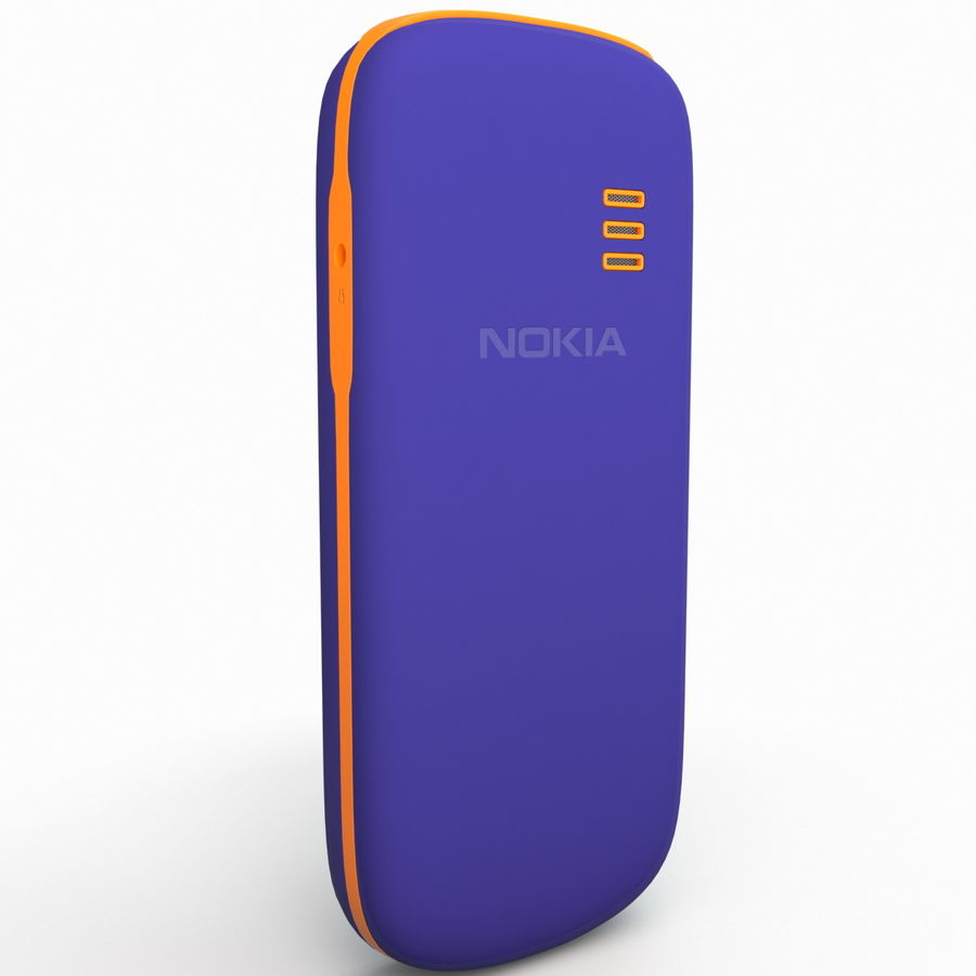 Nokia 103 royalty-free 3d model - Preview no. 8