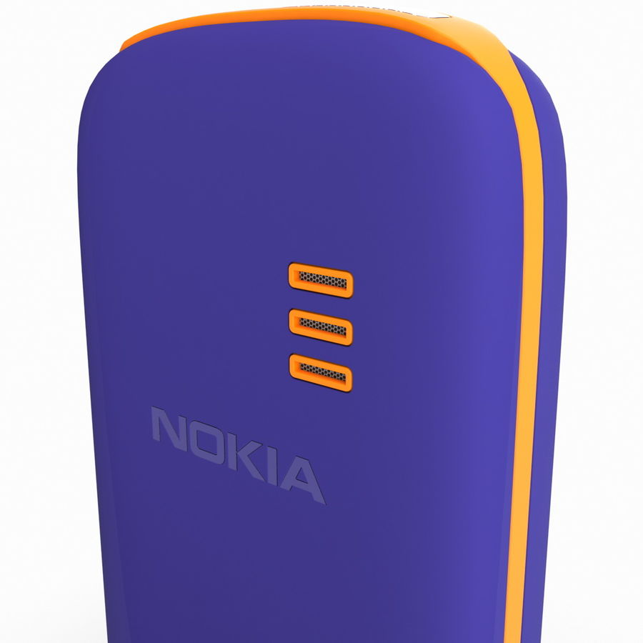 Nokia 103 royalty-free 3d model - Preview no. 15