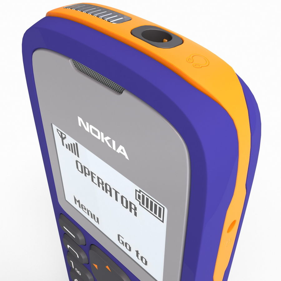 Nokia 103 royalty-free 3d model - Preview no. 12