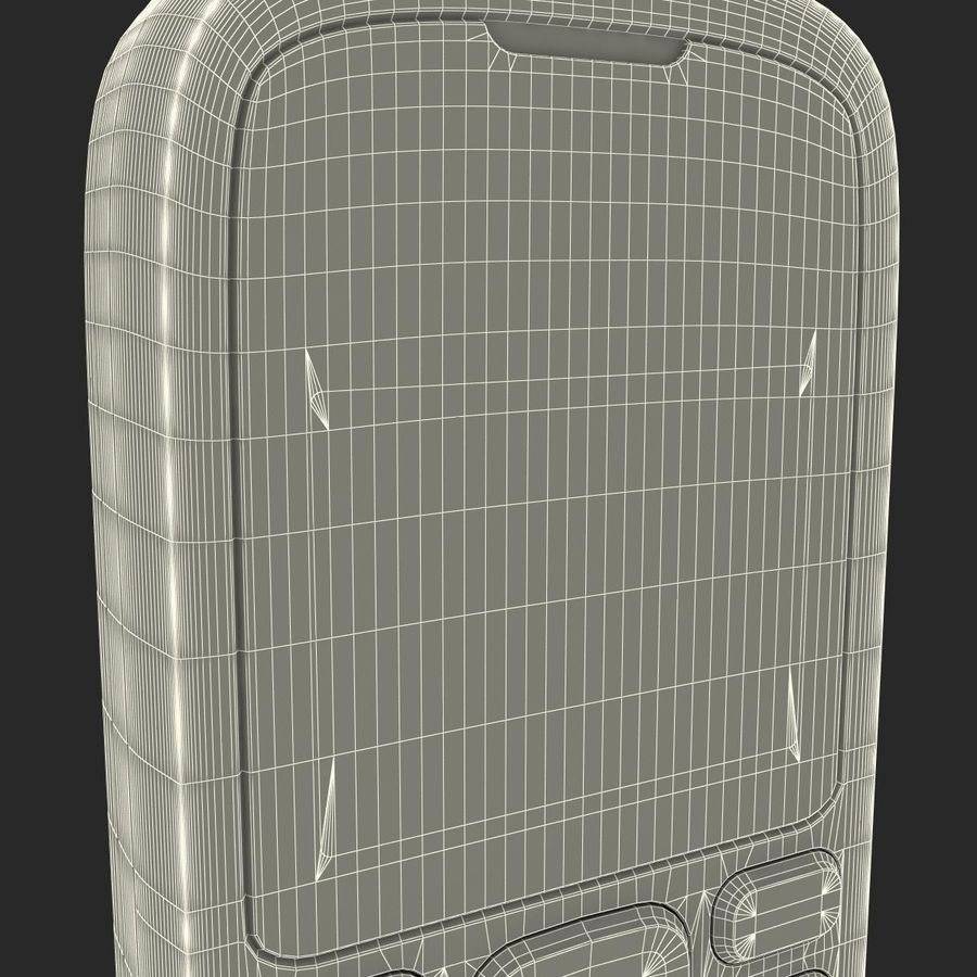 Nokia 103 royalty-free 3d model - Preview no. 27