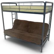 二段ベッドドレル 3d model