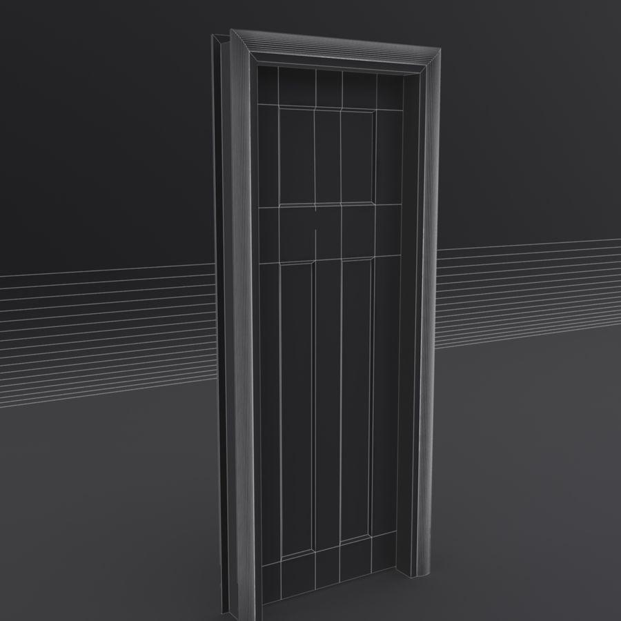Deur en kozijn royalty-free 3d model - Preview no. 10