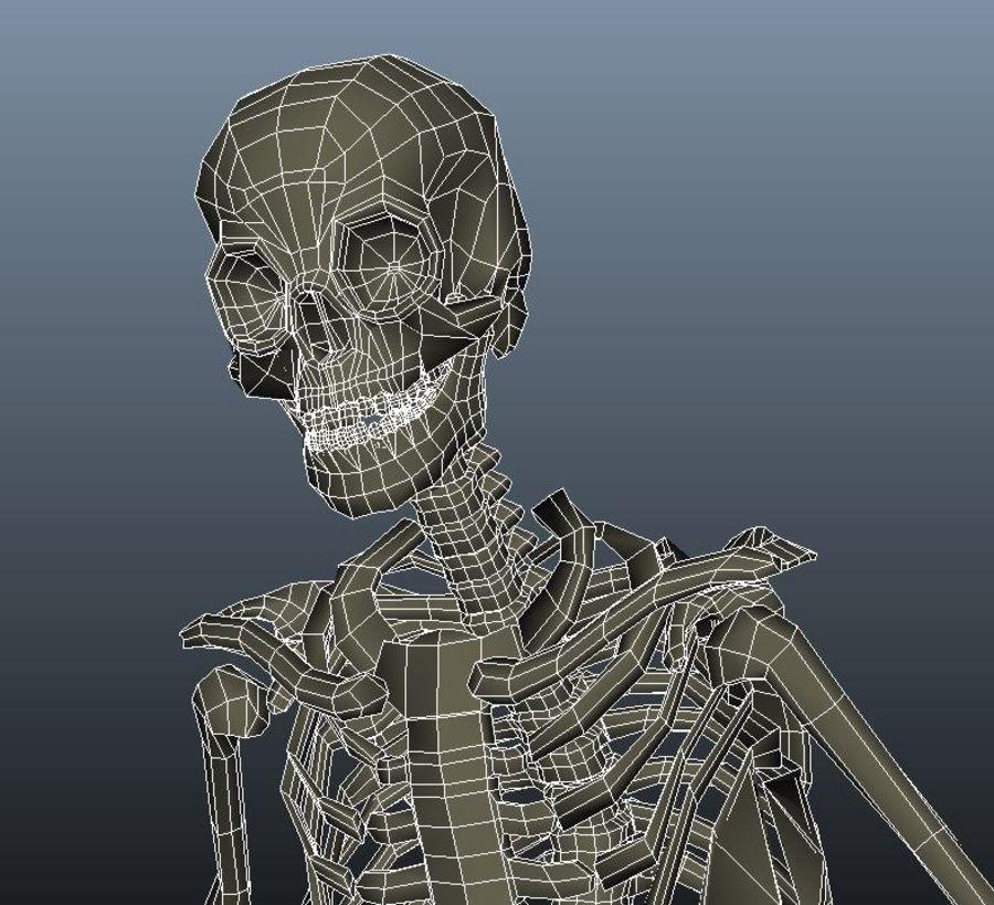 Animowany Szkielet royalty-free 3d model - Preview no. 5