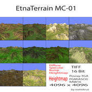 Etna Terrain MC-01 3d model