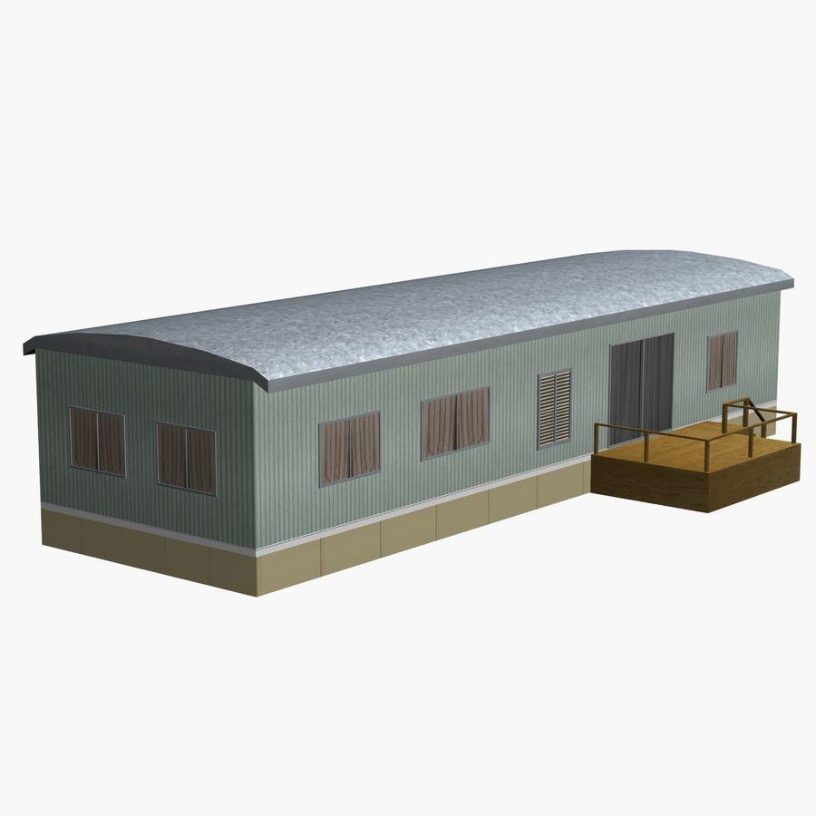 移动房屋 royalty-free 3d model - Preview no. 3