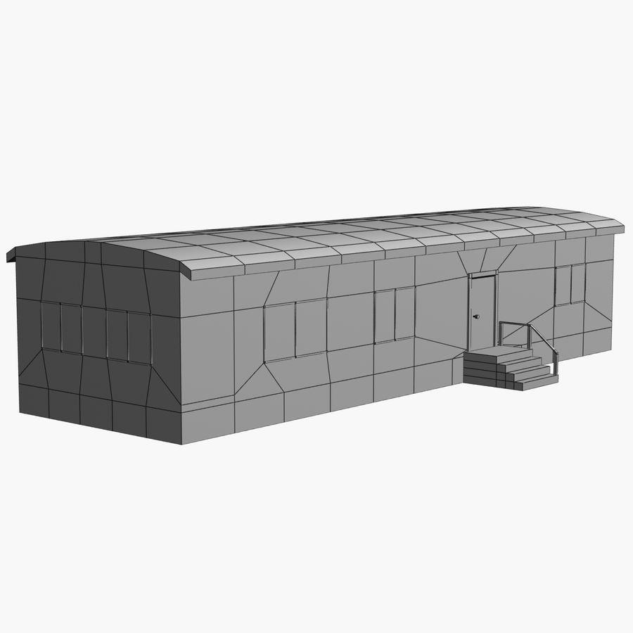 移动房屋 royalty-free 3d model - Preview no. 6