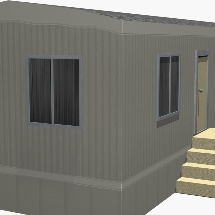移动房屋 royalty-free 3d model - Preview no. 13