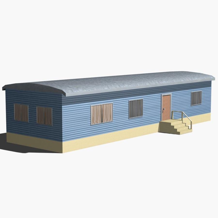 移动房屋 royalty-free 3d model - Preview no. 7