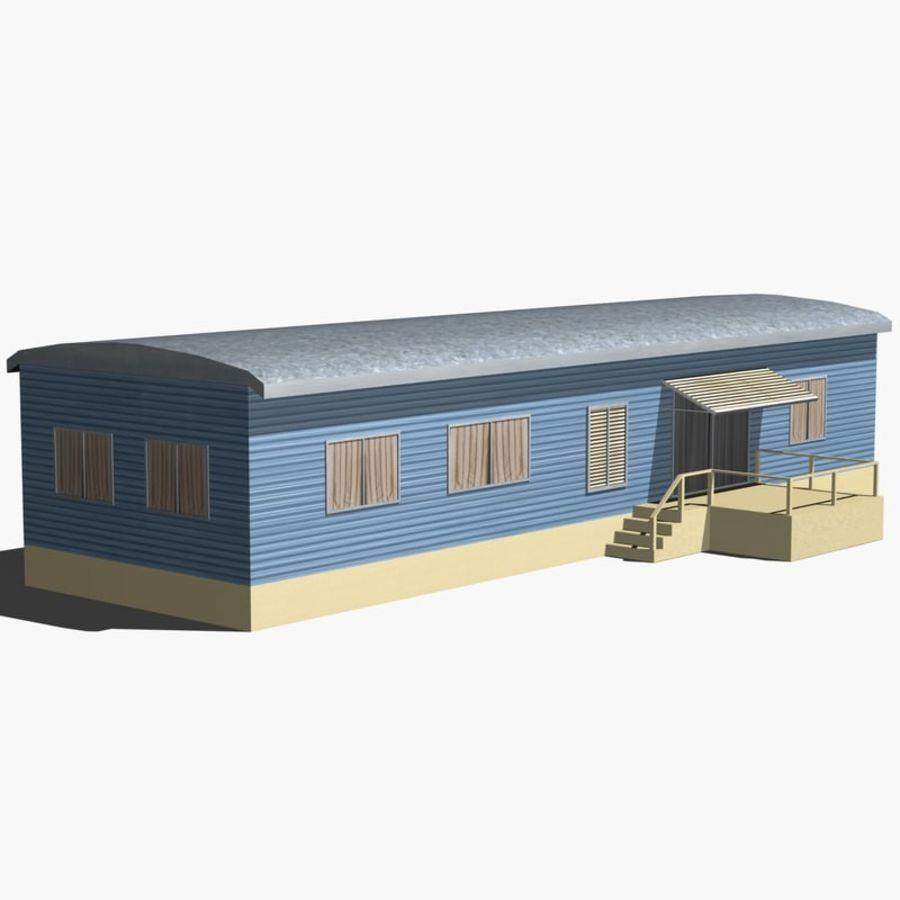 移动房屋 royalty-free 3d model - Preview no. 8