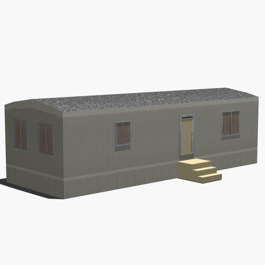 移动房屋 royalty-free 3d model - Preview no. 12
