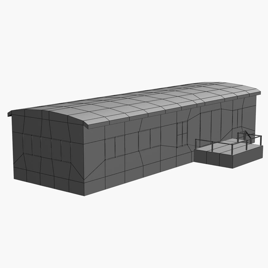 移动房屋 royalty-free 3d model - Preview no. 2