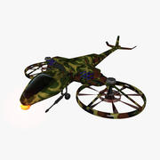 Sci Fi Helicopter 3d model