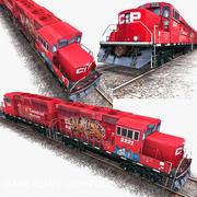 Locomotive Engine 3d model