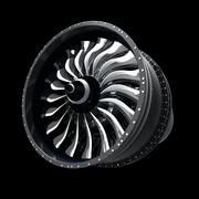 motores turbofan 3d model