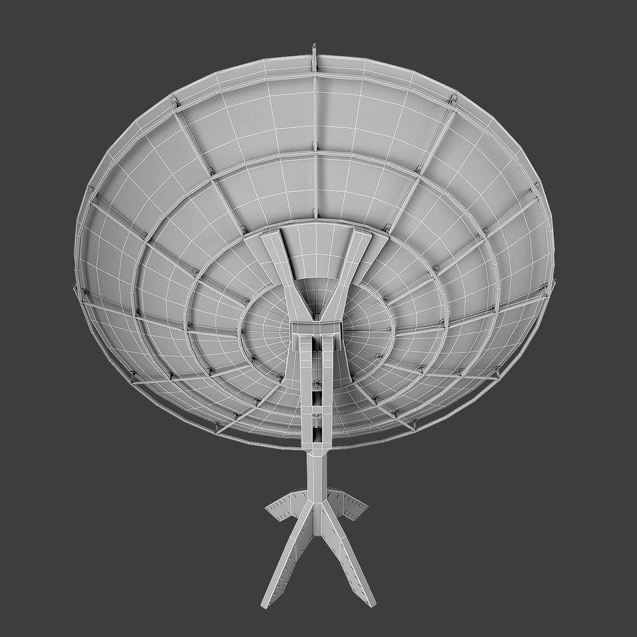 Satélite da antena royalty-free 3d model - Preview no. 8