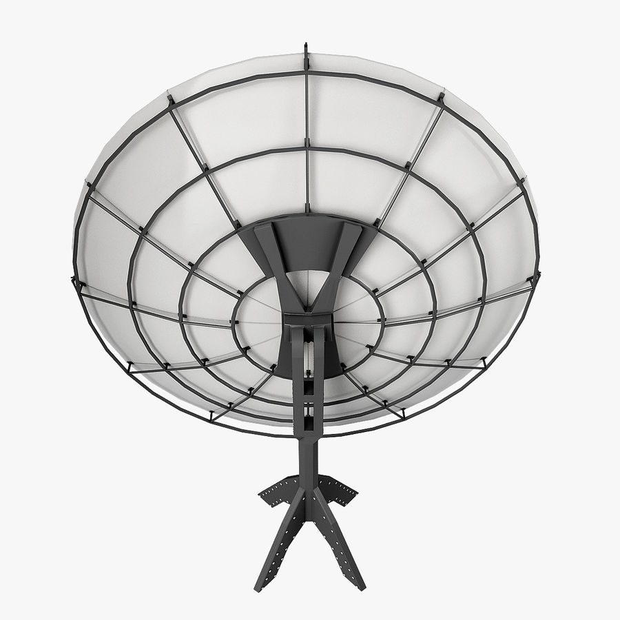 Antenna Satellite royalty-free 3d model - Preview no. 3